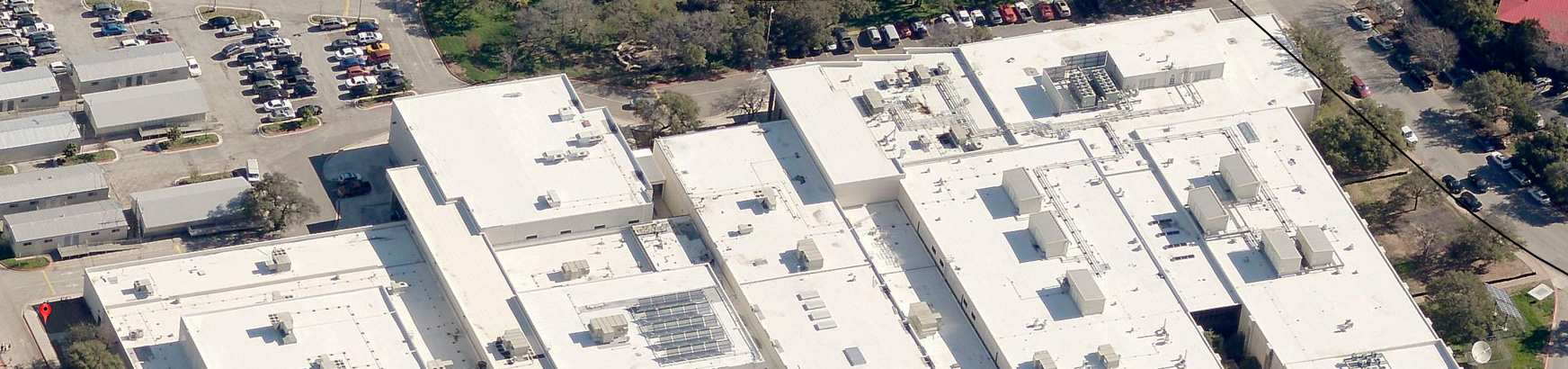 Aerial view of Westwood High School